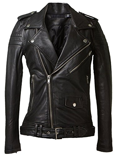 Leather4u LL877  Damen Lederjacke, in Schwarz