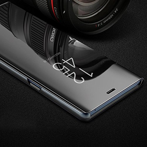 newest collection ca33f d019f Johra® Aluminum Metal Frame Mirror Acrylic Flip Case Cover for Vivo V9 -  Vivo V9 Flip Cover
