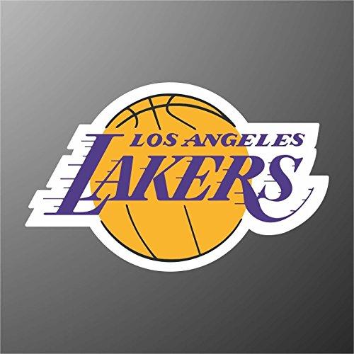 Aufkleber - Sticker Los Angeles Lakers Basket NBA sticker