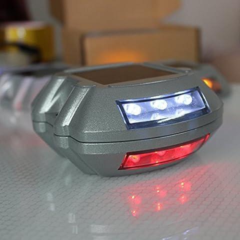 Lugii Cube Solar Power LED Spike lumière étanche en fonte d'aluminium extérieur Route Allée routes de montagne Allée lampe éclairage Blanc