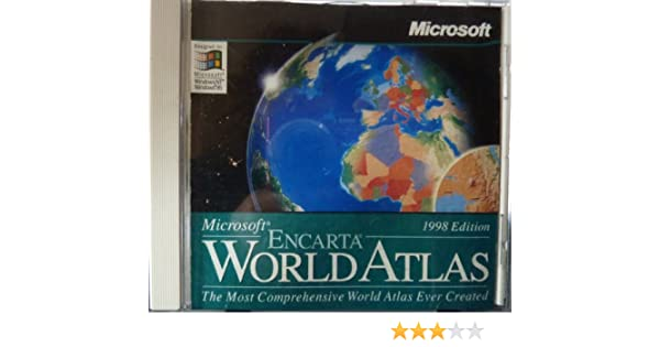 Microsoft encarta world atlas 98 amazon software gumiabroncs Images