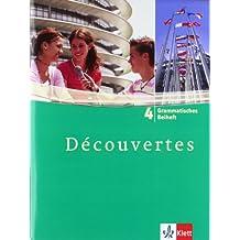 Découvertes / Grammatisches Beiheft - Band 4