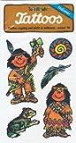 Indianer Tattoos von Lutz Mauder // Kinder Tattoo Kindertattoo Tatoo Tatto Kindergeburtstag Geburtstag Mitgebsel Geschenk