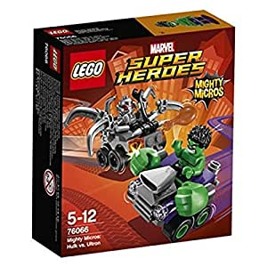 LEGO 76066 - Figurine Super Heroes Mighty Micros Hulk Vs Ultron