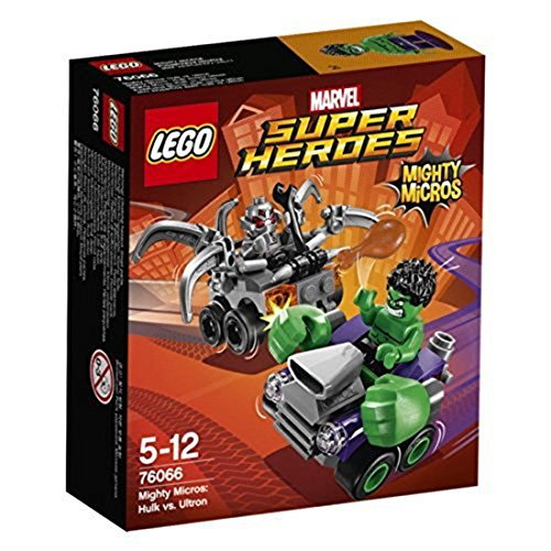 LEGO Super Heroes - Set Mighty Micros: Hulk vs. Ultrón...