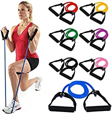 Flyngo Pull String Body Building Training Resistance Latex Rope for Bicep Curl, Shoulder Raise, Squat and Workout
