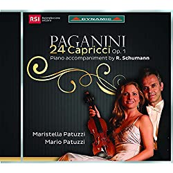 24 Caprices, Op. 1, MS 25 (Acc. by R. Schumann): No. 4 in C Minor. Maestoso