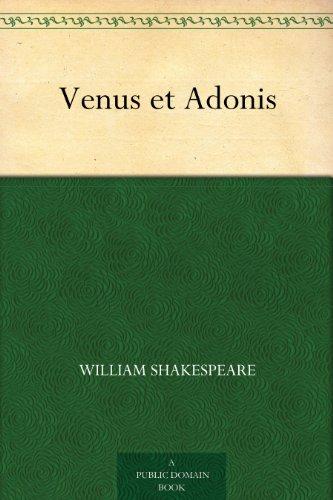 Couverture du livre Venus et Adonis