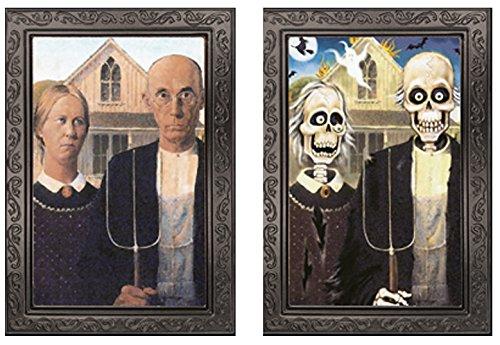 Halloween Bild Verwandlungsbild Horror Galerie des Grauens 33