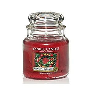 YANKEE CANDLE Jarre-Kranz Roter Winterapfel
