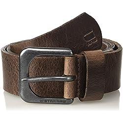 G-STAR RAW ZED Belt Cinturón, Marrón (Dk Brown/black Metal 8127), 105 para Hombre