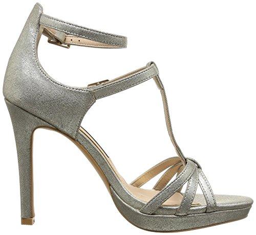 MTNG - 52293, Sandalo da donna Argento (KATZE PLATA)
