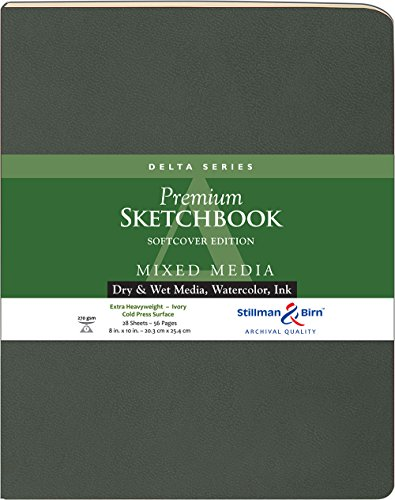 Delta Softcover Sketchbook 8X10 by Stillman & Birn - Birn-delta And Stillman
