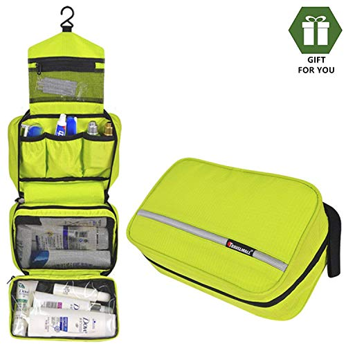 Neceser Viaje Hombre y Mujer,Neceser Maquillaje Pack Neceser Baño Toiletry Kit, Boic Pequeño Bolsas de Aseo Impermeable, Bolsa de Viaje,Cosmético Organizadores de Viaje Travel Toiletry Bag (Cyan)