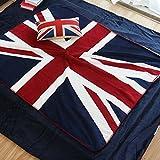 Amerikanische Baumwolle rustikale Thema Decke Schlafsofa Wohnzimmer Freizeitaktivitäten Decke...