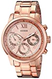 GUESS Women's U0330L2 Rose Gold-Tone Sta...