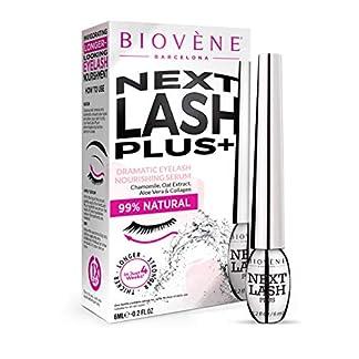 Next Lash Plus de Biovène + Sérum para Pestañas Dramáticas – Sérum para el Crecimiento de Pestañas, Aumenta la Apariencia de las Pestañas – Hecho con Vitaminas Esenciales + Extractos Naturales (6ml)