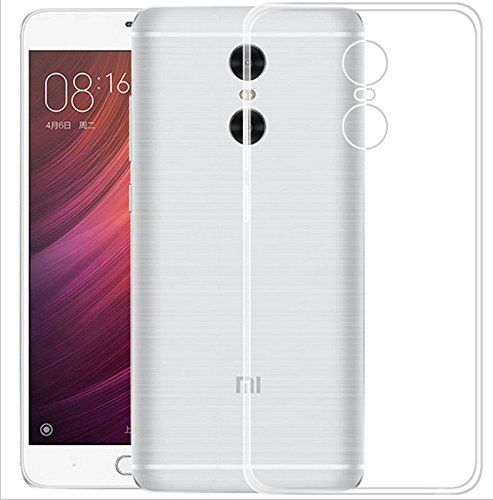 WOW Imagine(TM) Soft Jel Ultra Thin 0.3mm Full Protection Premium Clear TPU Back Case Cover for XIAOMI MI REDMI NOTE 4 (Transparent) (Perfect Cutouts as per the INDIAN Redmi Note 4 Model)  available at amazon for Rs.119