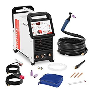 Welbach Aluminium Welder Tig AC-DC/MMA ENTRIX 200 (200 A/230 V, Digital, Programmable, Pulse Function, 2/4-Step, Hot Start)