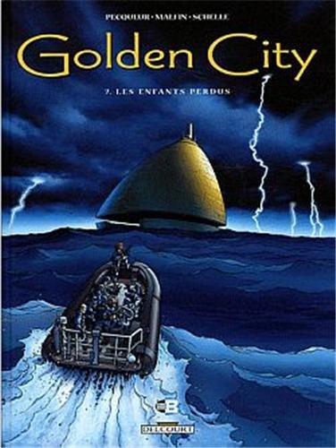 Golden city Pack T07+T08 + T09 HC