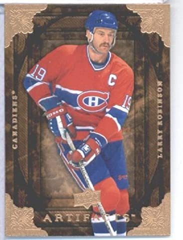 2008 09 Upper Deck Artifacts Hockey Card # 50 Larry Robinson Canadiens