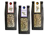 Green Coffee Beans Sumatra, Costa Rica, Brazil (Highland raw Coffee Beans, 3x500g Value Pack)