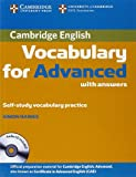 Cambridge Vocabulary for Advanced with Answers and Audio CD (Cambridge English)