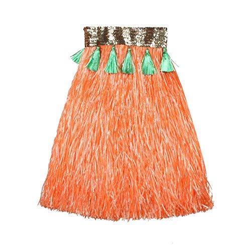 VENI-MASEE-Falda-para-mujer-naranja-naranja