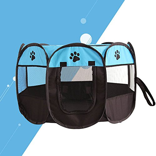 Beautyrain Scratch Pet Cloth Breathable Fold Cat Dog Cage 3 Colors Oxford -