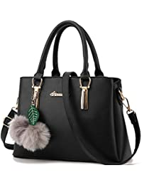 Ladies' PU Leather Handbags for Women Autumn Trend of Simple Fashion Shoulder Bag with Strap