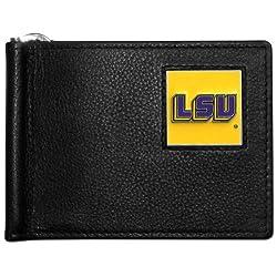 NCAA LSU Tigers Leather Bill Clip Wallet