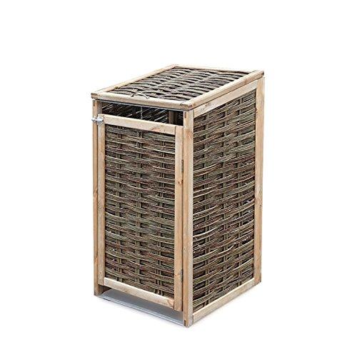 *Mülltonnenverkleidung für eine Mülltonne 120 Liter, 60 x 65 x 110/118 cm*