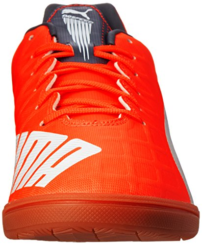 Puma Evospeed 4.4lt Chaussures de football Lava Blast/White/Total Eclipse