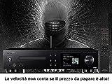 Pioneer NC 50DAB Black-Network Audio verstärkt 2x 50Watt