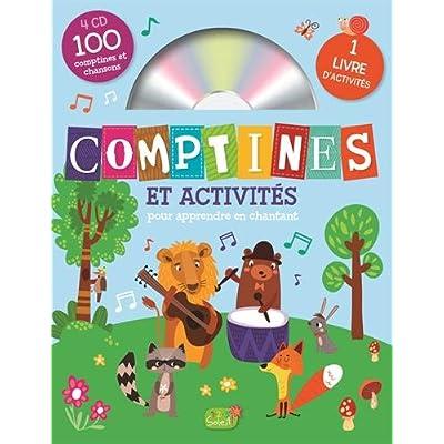 Comptines et activités - coffret de 4 CD