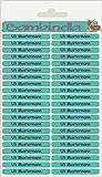 Bambinella® Namensticker für Stifte - 126 Stück - Hergestellt in Deutschland