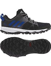 separation shoes 5273e 0631e Adidas Kanadia 8 K, Zapatos para Correr Unisex Niños, Marrón (Negbas Azul