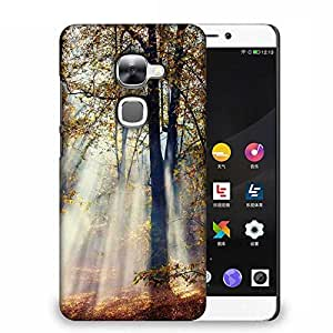 Snoogg White Smoked Forest Designer Protective Phone Back Case Cover For Samsung Galaxy J1
