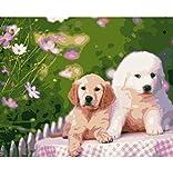 CYKEJISD Puzzle 1000 Pezzi Simpatico Cane Animali Fai da Te per Soggiorno Classic Puzzle 3D Puzzle Toy Gift in Legno