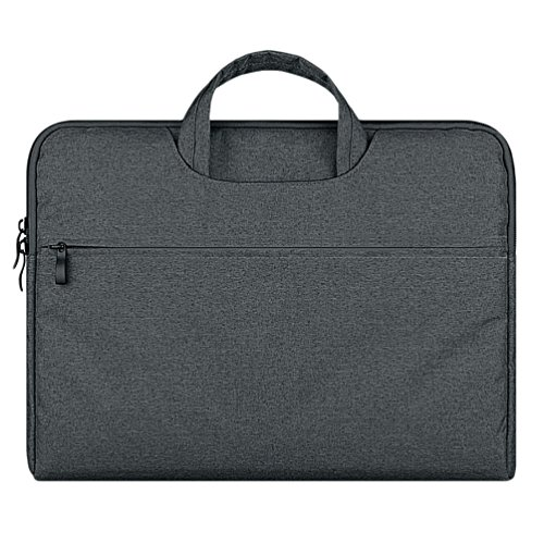 YiJee Sleeve per Laptop Computer Portatile Macbook Air Pro con Display Retina 11.6-15.6 Pollici 13.3 Inch Buio Grigio
