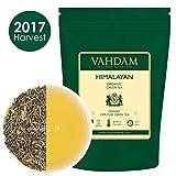 Tè verde biologico in foglie dall'Himalaya (100+ tazze), tè verde disintossicante per perdere peso, da piantagioni di alta quota. Ricco di antiossidanti.(255gm)
