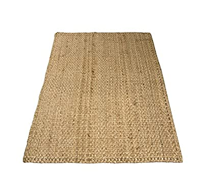 Charles Bentley Home 100X150Cm 100% Natural Jute Rug Hallway Runner Mat Carpet produced by Charles Bentley - quick delivery from UK.