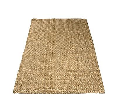 Charles Bentley Home 100X150Cm 100% Natural Jute Rug Hallway Runner Mat Carpet - low-cost UK light shop.