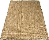 Charles Bentley Home 100X150Cm 100% Natural Jute Rug Hallway Runner Mat Carpet