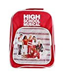 High School Musical Backpack 34 x 26 cm Red Disney Satchel