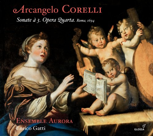 Corelli: 12 Sonate a tre Op.4 (Rome 1694)