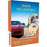 Emozione3 - Voglia D'Avventura - 2100 Attività Sportive o Di Svago Tra Rafting, Parapendio, Motori, Cofanetto Regalo, Avventura