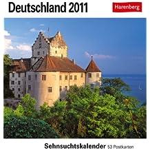 Deutschland 2011: Sehnsuchts-Kalender. 53 heraustrennbare Farbpostkarten