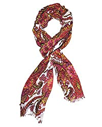 Indian Fashion Guru multicolor kani & Paisley design stole for women