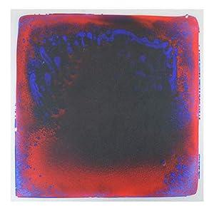 Kögler 23346 Liquid Floor - Alfombra para el Pelo, Aprox. 50 x 50 x 0,7 cm, Color Rojo y Azul.